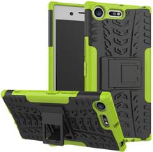 Sony Xperia Xz Premium Anti-Slip TPU Etui - Grønn