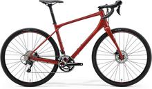 Merida Silex 400 Gravelbike Röd, Alu, Shimano 105 2x11s, 10,13kg