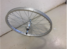 Bikeshop 20'' Silver Bakhjul For skrukassett