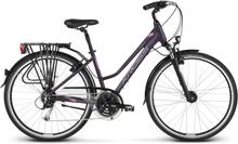 Kross Trans 5.0 Dam Hybridcykel Lila, 24 växlar, Hybridcykel, 17,1 kg