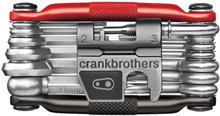Crankbrothers Multi-19 Multiverktyg 19 funksjoner, Etui, 175 g