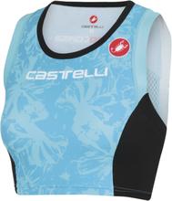 Castelli Free Tri Dame Topp Blå, Str. L