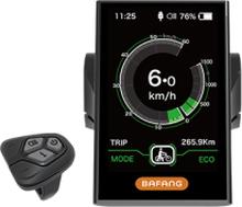 Bafang Display DP C18.UART Display för bafang el-cykel Systemer