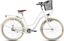 "Gavia Classic 26"" Citycykel Creamygloss, Shimano 3 växlar"