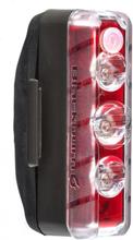 Blackburn Dayblazer 125 Baklys Sort, 125 lumen, USB Oppladbar