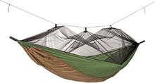 Amazonas Adventure Moskito Hängmatta Grön/Brun, 275 x 140 cm, 150 kg, 470 g