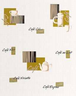 Kjøkken EDEM bakgrunn 062-25 bakgrunn Café kaffe hus motiver mosaik...