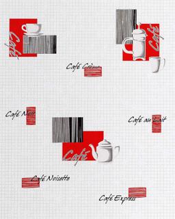 Kjøkken EDEM bakgrunn 062-24 bakgrunn Café kaffe hus motiver mosaik...