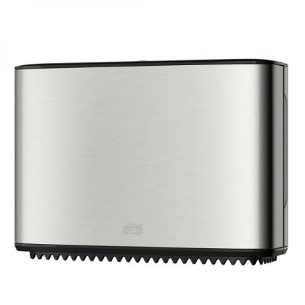 Dispenser Tork Mini Jumbo T2 stål t/toiletpapir 460006