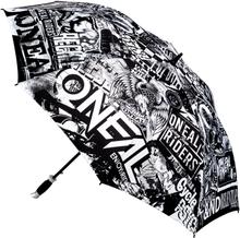 Oneal Moto Attack Paraply Svart/Vit, Stor utgåva