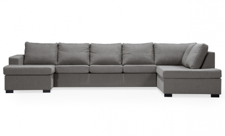 ÖLAND U-soffa XL Höger Sten