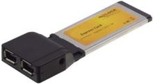 Express Card to 2 x FireWire A