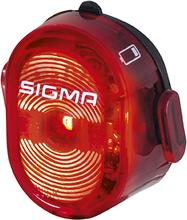 Sigma Nugget II Flash Baklampa Röd, Oppladbar, USB, 24g
