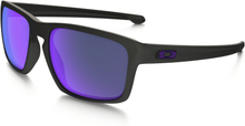 Oakley Sliver Polarisert Glasögon Matte Black/Violet iridium polarized
