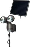 Brennenstuhl LED Solenergi-strålkastare SOL 2x4 an