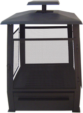 Esschert Design pagoda-formet ildsted metal 59 x 59 x 78 cm sort FF122