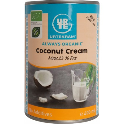 Urtekram Bio Coconut Cream 400 ml