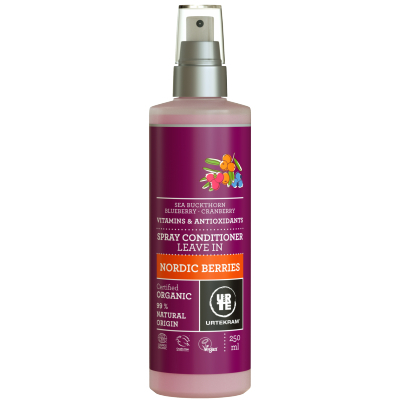 Urtekram Nordic Berries Leave In Spray Conditioner 250 ml