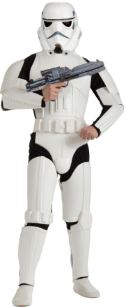 Kostume Stormtrooper Star Wars voksen M/L (40-42) - Vegaoo.dk