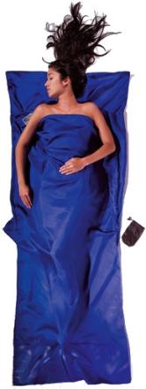 Cocoon TravelSheet Silk ultramarine blue 2020 Reselakan, Täcken & Liners