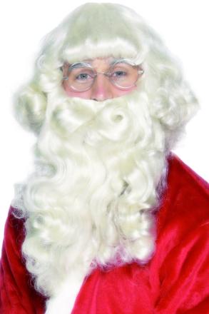 Skägg och Peruk Jultomte One-size