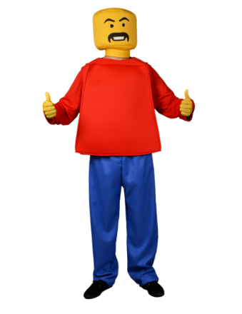 Morphsuits Lego - kostume voksen One-size - Vegaoo.dk