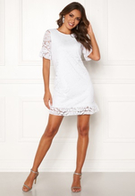 Happy Holly Julianne flounce lace dress White 40/42