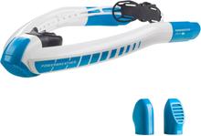 AMEO Powerbreather Lap 2.0 Snorkkeli, white/blue 2020 Uintivarusteet