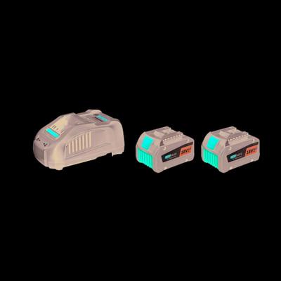 Bosch Startsats 2 x GBA 18V 6,3Ah 1xGAL1880CV