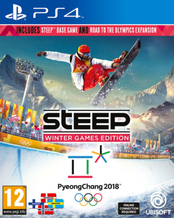 Steep Winter Games Edition PS4 Hovedspill + Road to Olympics DLC