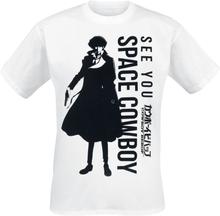Cowboy Bebop - See You Space Cowboy -T-skjorte - hvit