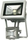 Starmo 10W Svart LED PIR strålkastare Cool White 6