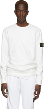 Stone Island Off-White Crewneck Sweatshirt