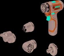 Bosch GSR 12 V-15 FC Solo M/4XBOR L-BOXX C&G