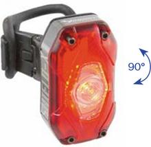 Moon Shield-X Auto Baklampa Röd, 45g, 150 lumen, 40 timmar!