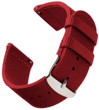 Bofink® Nordic Nylon Strap for Pebble Time - Red