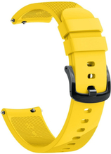 Garmin Forerunner 645 twill silicone watch band - Yellow