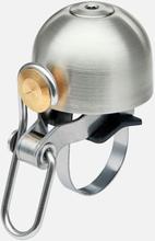 Spurcycle Ringeklokke Sølv, Premium Messing/Stål konstruksjon