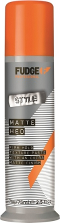 Fudge Professional Fudge Mette Hed Firm Hold Texture Paste Hold Factor 9 75 g