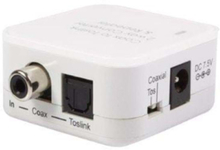 Two Way Digital Coax to Toslink Audio Co