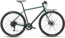 Bombtrack Arise Geared hybridcykel Grön, Shimano Deore, 11,5 kg (M)