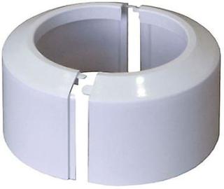 Hög delad tvådelad vit WC toalett rosett jord rör krage anslutnings...