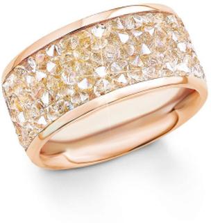S. Oliver s.Oliver juvel damer ring rostfritt stål Rosé guld SO1358...