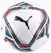 FINAL 1 FIFA Quality Pro voetbal, Zwart/Blauw/Roze, Maat 5 | PUMA