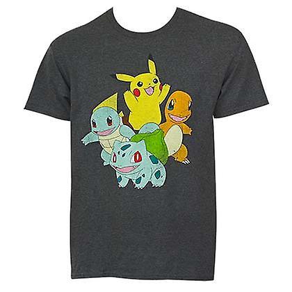 Pokemon Pikachu & venner Tee Shirt - Fruugo