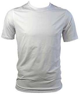 Canterbury CCC kylare besättningen Kortärmad tee shirt [vit] Large