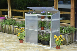 Växthus för balkong