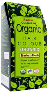 100% Ekologisk Hårfärg, 100 g, Strawberry Blonde