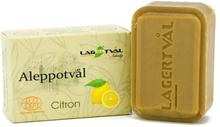 Aleppotvål med doft - 4% lagerbärsolja, ca. 100 g, Citron