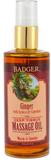 Ginger Deep Tissue Massage Oil, 118 ml